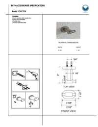 Spec Sheet and Warranty Info
