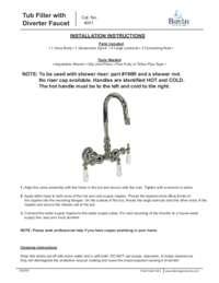 4001 Installation Instructions