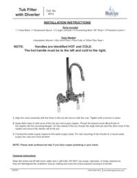 4012 Installation Instructions