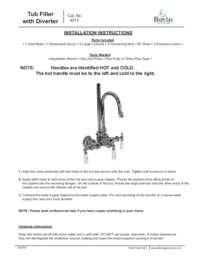 4013 Installation Instructions