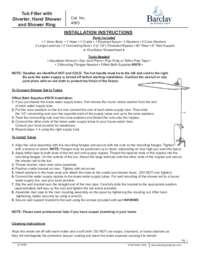 4063 Installation Instructions
