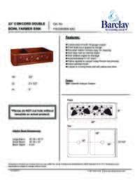 FSCDB3506 Specifications Sheet