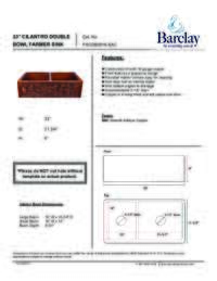 FSCDB3516 Specifications Sheet