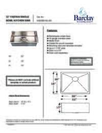 KSSSB2162 Specifications Sheet