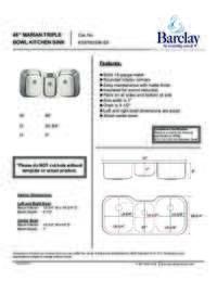 KSSTB2598 Specifications Sheet