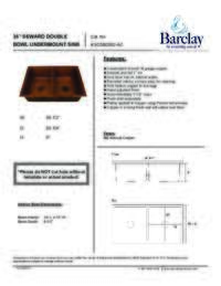 KSCDB3502 Specifications Sheet