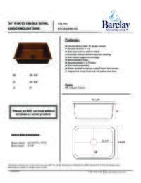 KSCSB3044 Specifications Sheet