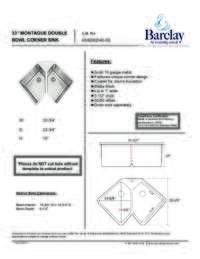 KSSDB2540 Specifications Sheet
