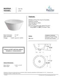 LFDF Marina Vessel Specifications Sheet