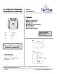 PSSSB2068 Specifications Sheet