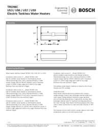 Engineering Submittal Sheet