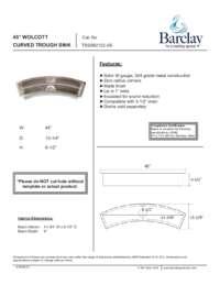 TSSSB2122 Specifications Sheet