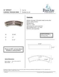 TSSSB2120 Specifications Sheet