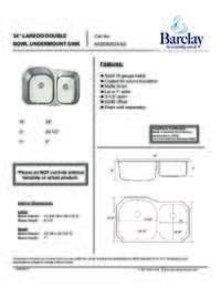 Laredo Specifications Sheet