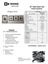Specification's Sheet