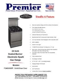 P24S330BP Spec Sheet