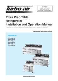 TPR Series Manual