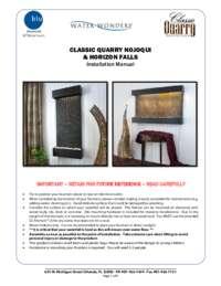 Classic Quarry, Nojoqui Falls, and Horizon Falls Manual