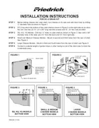 Drain Kit Installation Manual