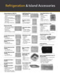 Refrigeration and Accessory Cutouts