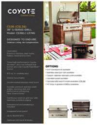 Coyote CS36 Product Sheet