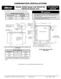 Combined Configuration ER36D, ER48D Range with ERV36-ER, ERV48-ER Raised Vent (10/07/13) -- Latest