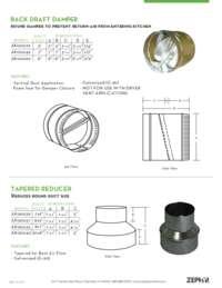 HVAC Fittings Specs