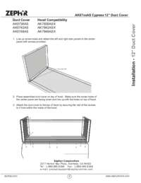 Duct Cover Manual