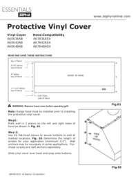 Protective Vinyl Cover Manual