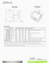 Blower Specifications