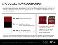 Glass Color Codes