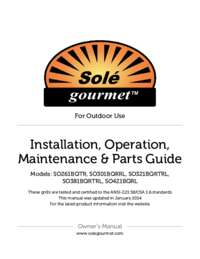Grill Owner's Manual