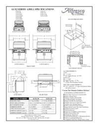 Specifications Sheet 2