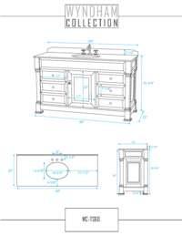 Vanity Specification Sheet
