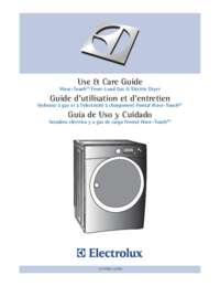 Use and Care Guide (French)