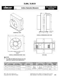 Inline Remote Blower - Planning Guide