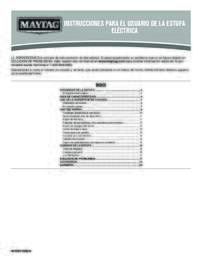 Instrucciones Para El Usuario De La Estufa