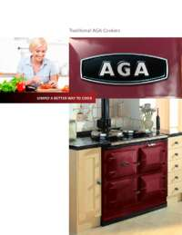 AGA Traditional Cooker Brochure