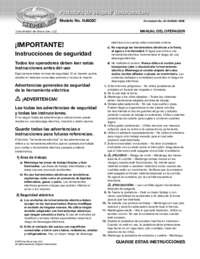 Owner's Manual Spanish