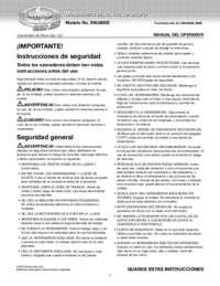Owner's Manual Spanish