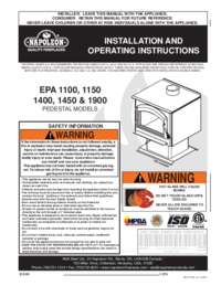 Installation & Operating Instructions