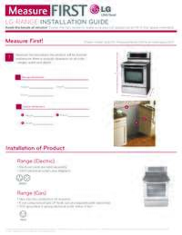 LG Measure First Range Guide