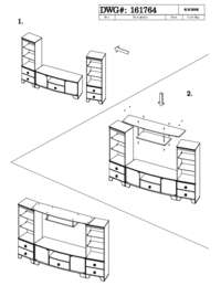 Entertainment Unit Assembly Instructions