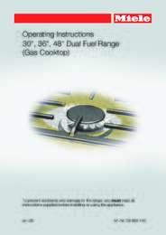 Gas Cooktop Manual