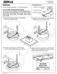 RED006: 25 CFM Reducer