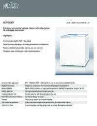 Features Sheet