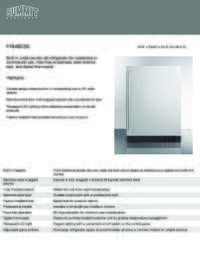 36 Inch Warming Shelf Panel - Installation Instructions