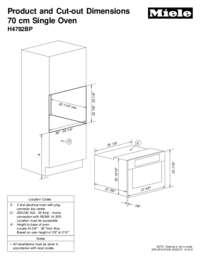 H4782BP Navitronic Single Oven