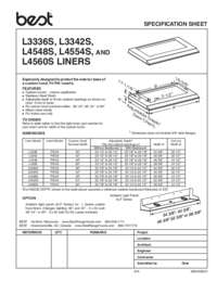 L33 Specification Sheet