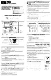 RT6 Remote Thermostat Installation Manual